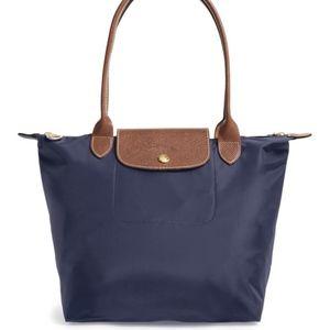 Longchamp Small le pliage tote Navy blue